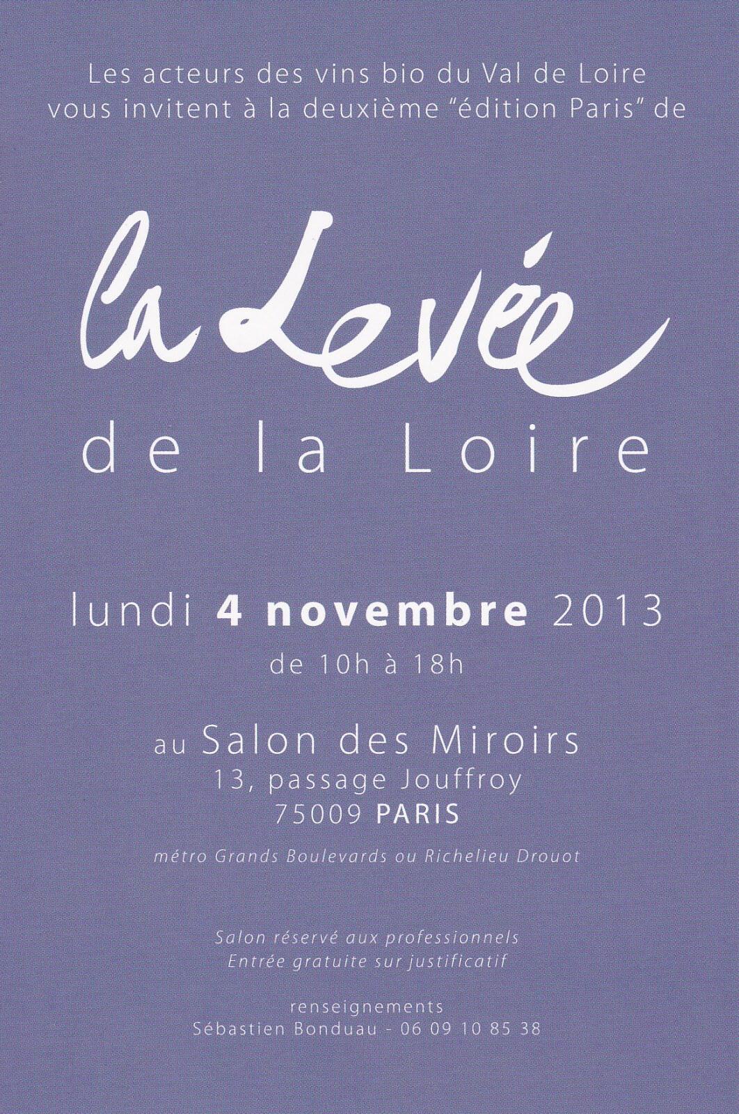 La levée de la Loire